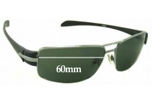 Sunglass Fix Sunglass Replacement Lenses for Spotters Dune - 60mm Wide