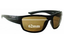 Sunglass Fix Sunglass Replacement Lenses for Spotters Nitro - 62mm Wide