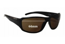 Sunglass Fix Sunglass Replacement Lenses for Spotters Vector - 64mm Wide