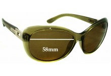 Sunglass Fix Sunglass Replacement Lenses for Smarty S11522 - 58mm Wide