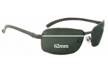 Sunglass Fix Sunglass Replacement Lenses for Spotters F11 - 62mm Wide
