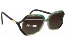Sunglass Fix Sunglass Replacement Lenses for Ted Lapidus TL 1030 - 56mm Wide