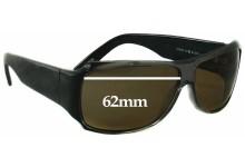Sunglass Fix Sunglass Replacement Lenses for Thakoon TK500 - 62mm Wide