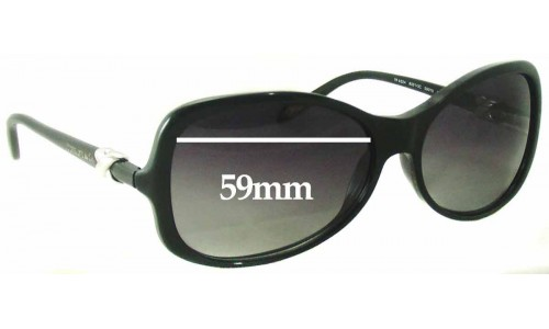 Sunglass Fix Sunglass Replacement Lenses for Tiffany & Co TF 4024 - 59mm Wide