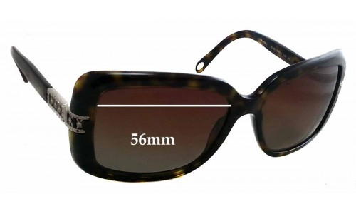 Sunglass Fix Sunglass Replacement Lenses for Tiffany & Co TF 4025-B - 56mm Wide