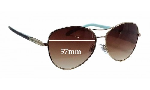 Sunglass Fix Sunglass Replacement Lenses for Tiffany & Co TF 3041 - 57mm Wide