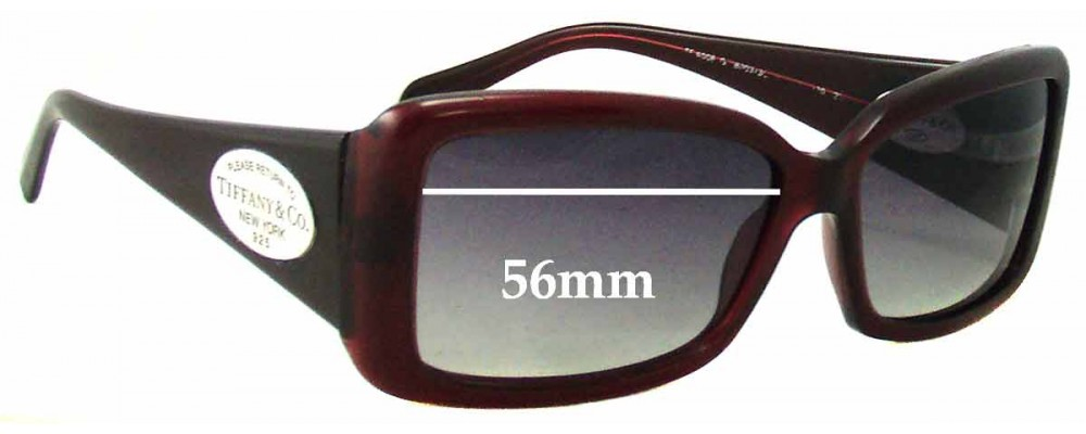8376e06d980 Sunglass Fix Sunglass Replacement Lenses for Tiffany   Co TF4006 - 56mm Wide