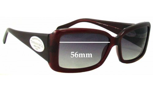 Sunglass Fix Sunglass Replacement Lenses for Tiffany & Co TF 4006 - 56mm Wide
