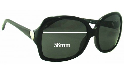 Sunglass Fix Sunglass Replacement Lenses for Tiffany & Co TF 4041 - 58mm Wide