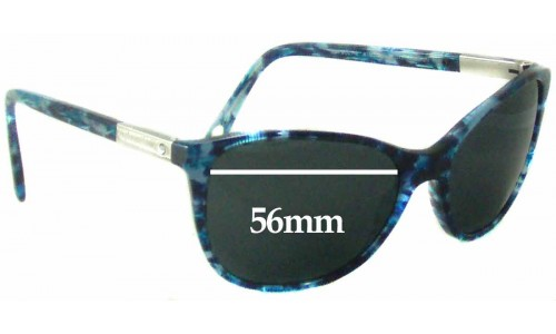 Sunglass Fix Sunglass Replacement Lenses for Tiffany & Co TF 4051-B - 56mm Wide