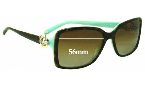 Sunglass Fix Sunglass Replacement Lenses for Tiffany & Co TF 4066 - 56mm Wide