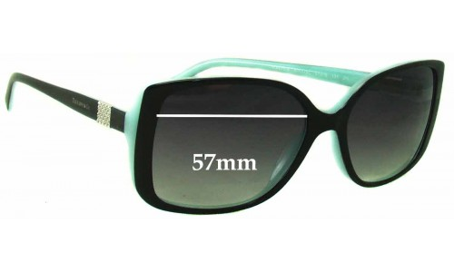 Sunglass Fix Sunglass Replacement Lenses for Tiffany & Co TF 4071-B - 57mm Wide