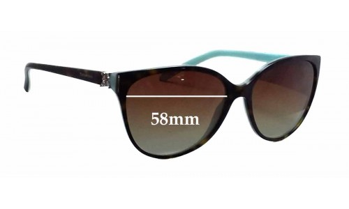 Sunglass Fix Sunglass Replacement Lenses for Tiffany & Co TF 4089-B - 58mm Wide