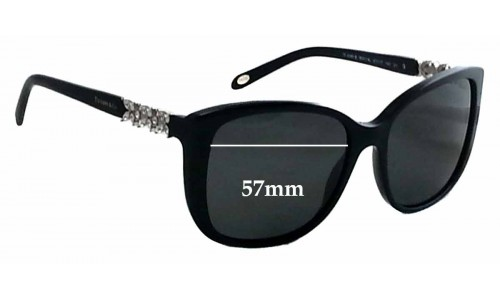 Sunglass Fix Sunglass Replacement Lenses for Tiffany & Co TF 4090-B - 57mm Wide