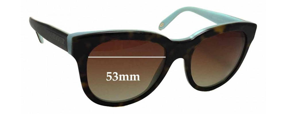 c736cc0caf5 Sunglass Fix Sunglass Replacement Lenses for Tiffany   Co TF4112 - 53mm Wide