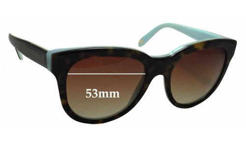 Sunglass Fix Sunglass Replacement Lenses for Tiffany & Co TF 4112 - 53mm Wide