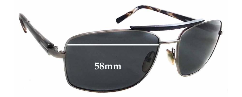 f8e581661e6 Sunglass Fix Sunglass Replacement Lenses for Tom Ford Daniel TF114 - 58mm  Wide