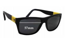 Sunglass Fix Sunglass Replacement Lenses for Tommy Hilfiger / Specsavers TH Sun RX 11 - 57mm Wide