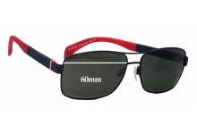 Sunglass Fix Sunglass Replacement Lenses for Tommy Hilfiger / Specsavers TH Sun RX 18 - 60mm Wide