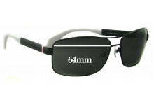 Sunglass Fix Sunglass Replacement Lenses for Tommy Hilfiger TH 1258/S - 64mm Wide