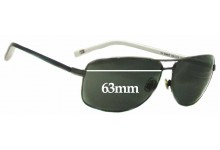 Sunglass Fix Sunglass Replacement Lenses for Tommy Hilfiger TH DM67 - 63mm Wide