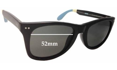 Sunglass Fix Sunglass Replacement Lenses for Toms Windward S006 - 52mm Wide