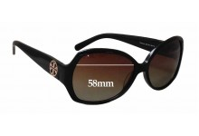 Sunglass Fix Sunglass Replacement Lenses for Tory Burch TY7019 - 58mm Wide