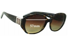 Sunglass Fix Sunglass Replacement Lenses for Tory Burch TY7043 - 57mm Wide