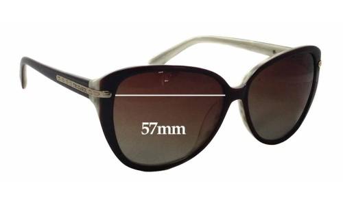 Sunglass Fix Sunglass Replacement Lenses for Trussardi TR12847 - 57mm Wide x 50mm Tall