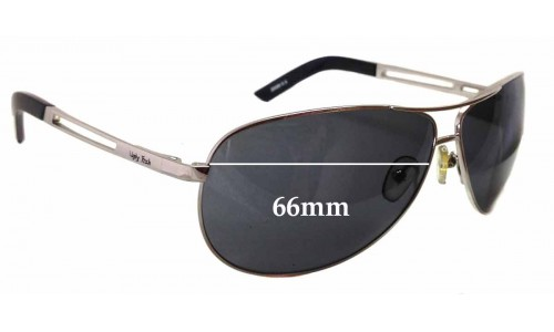 Sunglass Fix Sunglass Replacement Lenses for Ugly Fish Blizzard 20099ss - 66mm Wide