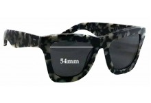 Sunglass Fix Sunglass Replacement Lenses for Valley DB - 54mm Wide x 45mm Tall
