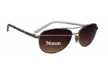 Sunglass Fix Sunglass Replacement Lenses for Vera Bradley Heidi - 56mm Wide