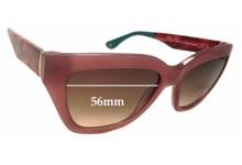 Sunglass Fix Sunglass Replacement Lenses for Verge Lauren - 56mm Wide