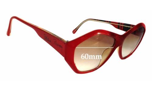 Sunglass Fix Sunglass Replacement Lenses for Vienna Line 1463 - 60mm wide