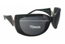 Sunglass Fix Sunglass Replacement Lenses for Vivienne Westwood VW58006 - 70mm Wide