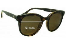 Sunglass Fix Sunglass Replacement Lenses for Vogue VO2730-S - 51mm Wide