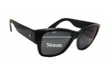 Sunglass Fix Sunglass Replacement Lenses for Vuarnet Pouilloux 086 - 56mm Wide x 45mm Tall