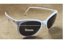 Sunglass Fix Sunglass Replacement Lenses for Vuarnet Pouilloux Folding Frames - 56mm Wide