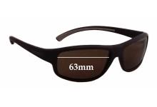 Sunglass Fix Sunglass Replacement Lenses for Vuarnet Pouilloux VL0120 - 63mm Wide