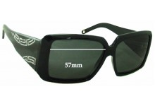 79b5bd2adf Sunglass Fix Sunglass Replacement Lenses for Versace MOD 4142-B - 57mm Wide