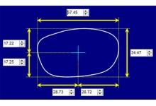 Sunglass Fix Sunglass Replacement Lenses for Vuarnet Pouilloux 030 - 55mm Wide x 32mm Tall