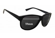 Sunglass Fix Sunglass Replacement Lenses for William Rast 2059P - 59mm Wide x 47mm Tall