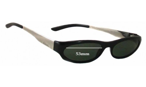 Sunglass Fix Sunglass Replacement Lenses for Yves Saint Laurent YSL 2081/S - 53mm wide