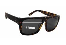 Sunglass Fix Sunglass Replacement Lenses for Ziggy Meltdown - 57mm Wide x 43.5mm Tall