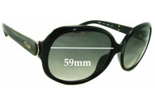 Sunglass Fix Sunglass Replacement Lenses for Chloe CE 611S - 59mm Wide