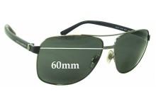 Sunglass Fix Sunglass Replacement Lenses for Dolce & Gabbana DG2131 - 60mm Wide