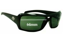 Sunglass Fix Sunglass Replacement Lenses for Electric BSG Bam - 64mm Wide