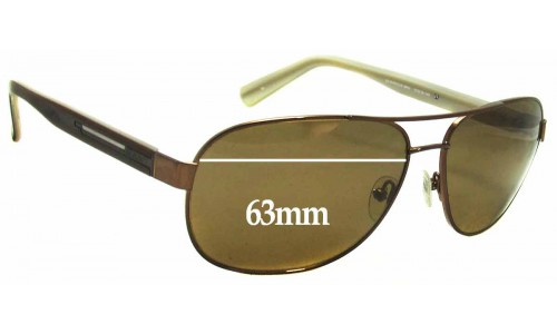 Sunglass Fix Sunglass Replacement Lenses for Gant GS Marcus - 63mm Wide