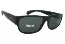 Sunglass Fix Sunglass Replacement Lenses for Mosley Tribes Delroy - 56mm Wide