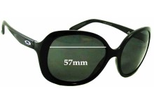 Sunglass Fix Sunglass Replacement Lenses for Oakley Backhand - 57mm Wide